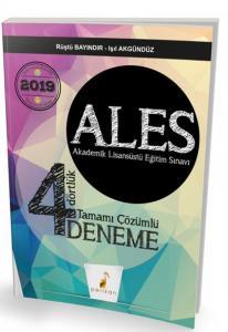 ALES Dört Dörtlük 4 Deneme Sınavı Tamamı Çözümlü 2019