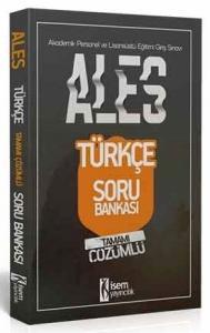 İsem Yayınları 2020 ALES Türkçe Sözel Yetenek Tamamı Çözümlü Soru Bankası