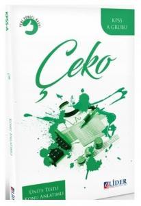 Lider Yayınları 2020 KPSS A Grubu Çeko Çalışma Ekonomisi Konu Anlatımlı