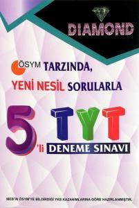 Gür Yayınları TYT 5 Deneme Diamond Serisi