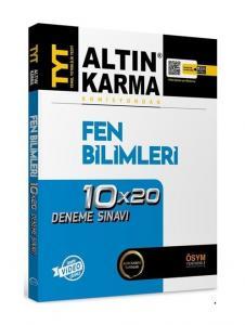 Altın Karma Yayınları TYT Fen Bilimleri 10x20 Deneme Video Çözümlü