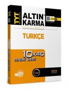 Altın Karma Yayınları TYT Türkçe 10x40 Deneme Video Çözümlü