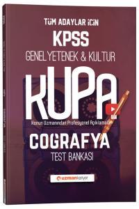 Uzman Kariyer Yayınları 2020 KPSS Coğrafya Kupa Konu Konu Test Bankası