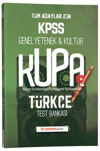 Uzman Kariyer Yayınları 2020 KPSS Türkçe Kupa Konu Konu Test Bankası