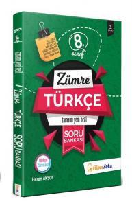 Hiper Zeka Yayınları 8. Sınıf Türkçe Yeni Nesil Soru Bankası Zümre