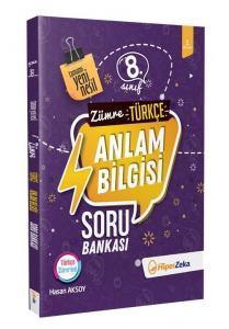 Hiper Zeka Yayınları 8. Sınıf Türkçe Anlam Bilgisi Yeni Nesil Soru Bankası Zümre