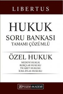 Pegem Yayınları 2020 KPSS Libertus Hukuk Özel Hukuk Soru Bankası Çözümlü