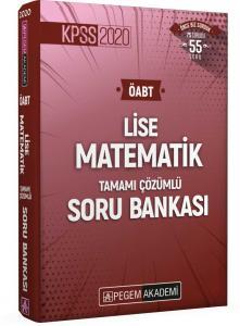 Pegem Yayınları 2020 KPSS ÖABT Lise Matematik Tamamı Çözümlü Soru Bankası