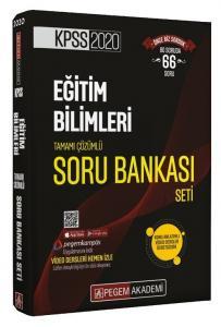 Pegem Yayınları 2020 KPSS Eğitim Bilimleri Tamamı Çözümlü Modüler Soru Bankası Seti 6 Kitap