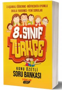 Yediiklim 8.Sınıf Türkçe Konu Özetli Soru Bankası