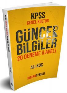Doğru Tercih Yayınları KPSS Genel Kültür Güncel Bilgiler 20 Deneme İlaveli