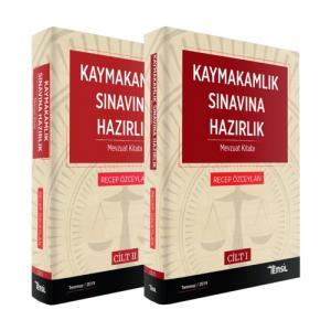 Kaymakamlık Sınavlarına Hazırlık Mevzuat Kitabı (2 Cilt)