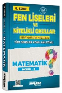 Ankara Yayıncılık 8. Sınıf Matematik Konu Anlatımlı Modül 2