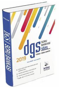 İntibak DGS Sözel Soru Bankası 2019