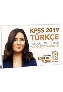 Benim Hocam KPSS Türkçe Tamamı Çözümlü Video Soru Bankası 2019
