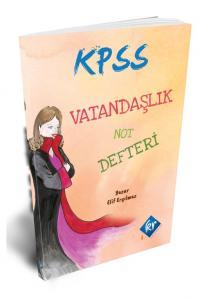 KR Akademi 2020 KPSS Vatandaşlık Not Defteri