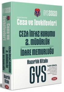 Data Yayınları 2020 GYS Ceza ve Tevkifevleri Ceza İnfaz Kurumu 2. Müdürlüğü ve İdare Memurluğu Hazırlık Kitabı