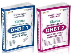 Ahsen Kitap 2020 DHBT 1-2 KLAVUZ Ön Lisans-Lisans Konu Anlatımlı + Soru Bankası 2 li Set