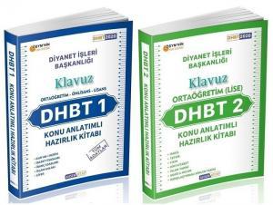 Ahsen Kitap 2020 DHBT 1-2 KLAVUZ Ortaöğretim Lise Konu Anlatımlı + Soru Bankası 2 li Set