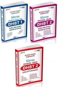 Ahsen Kitap 2020 DHBT 1-2 KLAVUZ Ön Lisans-Lisans Konu Anlatımlı + Soru Bankası 3 lü Set
