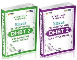 Ahsen Kitap 2020 DHBT-2 KLAVUZ Ortaöğretim Lise Konu Anlatımlı + Soru Bankası 2 li Set