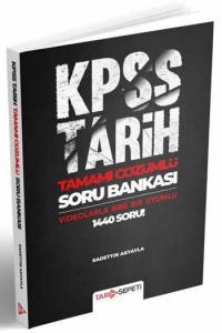 Benim Hocam Yayınları 2020 KPSS Tamamı Çözümlü Tarih Sepeti Soru Bankası