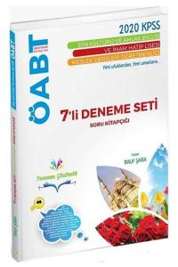 Rauf ŞARA 2020 ÖABT Din Kültürü ve Ahlak Bilgisi Tamamı Çözümlü 7 li Deneme Seti