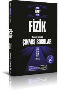 Pegem Yayınları 2019 KPSS ÖABT Fizik Tamamı Çözümlü Çıkmış Sorular