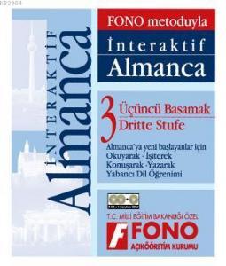 Fono Yayınları İnteraktif Almanca 3. Basamak; (2kitap, 1 Cd)