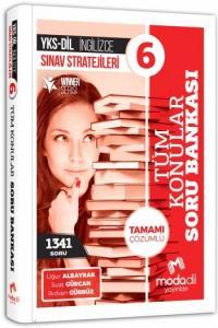 Modadil YKS DİL Sınav Stratejileri 6 - Tamamı Çözümlü Tüm Konular Soru Bankası