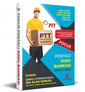 Liyakat PTT Postacı Sınavlarına Özel Hazırlık Focus Soru Bankası