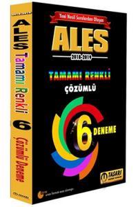 Tasarı ALES Yeni Nesil 6 Renkli Fasikül Çözümlü Deneme