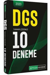 Pegem Yayınları 2020 DGS Tamamı Çözümlü 10 Deneme