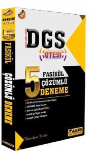Tasarı Akademi DGS Ötesi 5 Fasikül Çözümlü Deneme 2019
