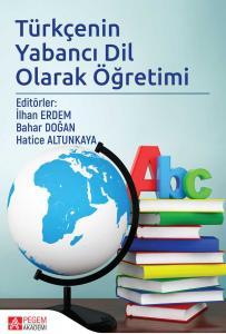 Pegem Akademi Türkçenin Yabancı Dil Olarak Öğretimi