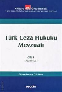 Türk Ceza Hukuku Mevzuatı Cilt:1 (Ciltli)