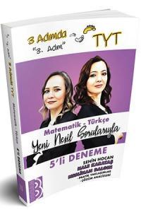 Benim Hocam Yayınları TYT 3 Adımda Matematik Türkçe 5 li Deneme 3. Adım