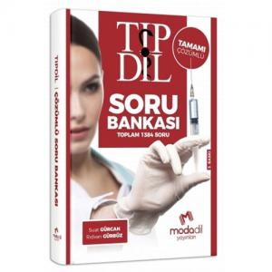 Modadil TIP DİL Tamamı Çözümlü Soru Bankası