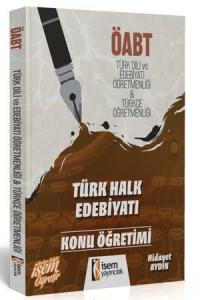 İsem KPSS ÖABT Türk Halk Edebiyatı Konu Öğretimi 2019