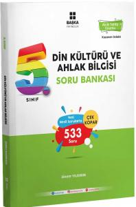 Başka Yayıncılık 5. Sınıf Din Kültürü ve Ahlak Bilgisi Soru Bankası