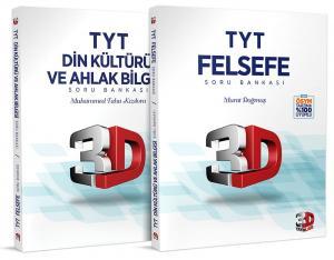 3D Yayınları TYT Felsefe ve Din Kültürü ve Ahlak Bilgisi Soru Bankası