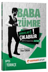 Uzman Kariyer KPSS Türkçe Baba Zümre  Dikkat Çıkabilir Soruları 2019