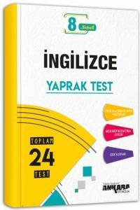 8. Sınıf İngilizce Yaprak Test - Ankara Yayıncılık