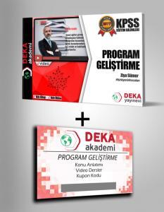 Deka Akademi KPSS Eğitim Bilimleri Program Geliştirme Etkin Videolu Ders Notları