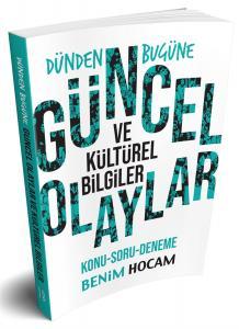 Benim Hocam Yayınları 2018 Dünden Bugüne Güncel Olaylar Kültürel Bilgiler Konu-Soru-Deneme Kitabı