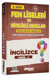Ankara Yayıncılık 8. Sınıf İngilizce Konu Anlatımlı Modül 6