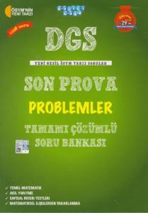 Akıllı Adam DGS Son Prova Problemler Tamamı Çözümlü Soru Bankası