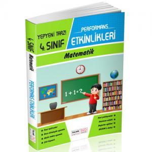 İnovasyon 4. Sınıf Matematik Performans Etkinlikleri İncek Serisi