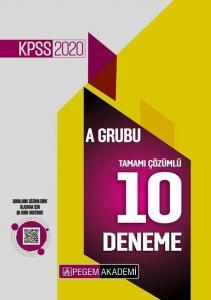 Pegem  Yayınları 2020 KPSS A Grubu 10 Deneme Video Çözümlü