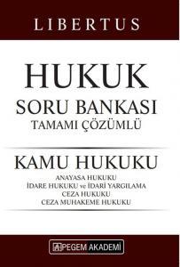 Pegem Yayınları 2020 KPSS A Grubu Libertus Hukuk Kamu Hukuku Soru Bankası Çözümlü